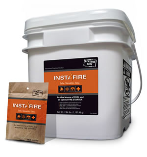5 Gallon Bucket Fire Starter