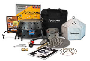 Volcano Stove (total package)